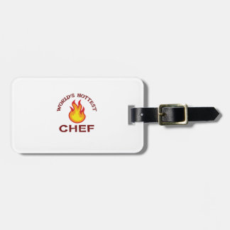 WORLDS HOTTEST CHEF TAGS FOR LUGGAGE