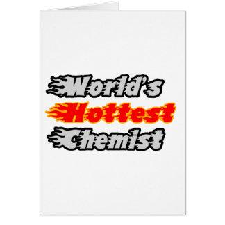 World's Hottest Chemist Card