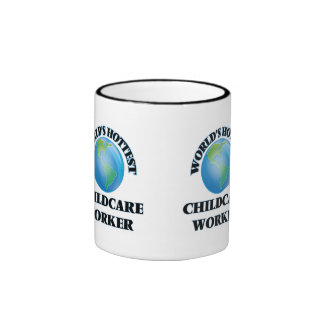 World's Hottest Childcare Worker Coffee Mugs