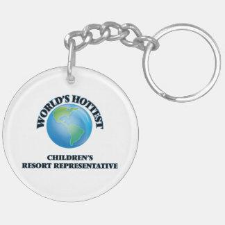 World's Hottest Children's Resort Representative Acrylic Keychains