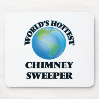 World's Hottest Chimney Sweeper Mousepad