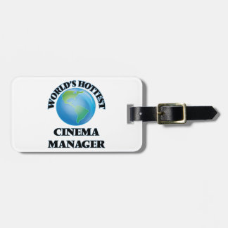 World's Hottest Cinema Manager Bag Tags