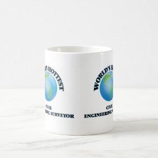 World's Hottest Civil Engineering Surveyor Coffee Mug