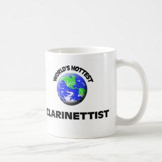 World's Hottest Clarinettist Classic White Coffee Mug