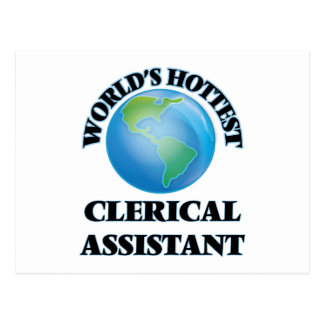 World's Hottest Clerical Assistant Post Card