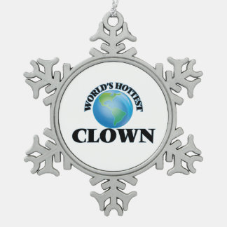 World's Hottest Clown Ornaments