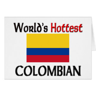 World's Hottest Colombian Card
