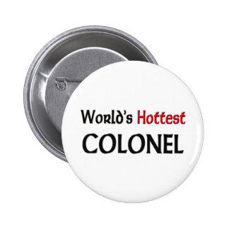Worlds Hottest Colonel 2 Inch Round Button