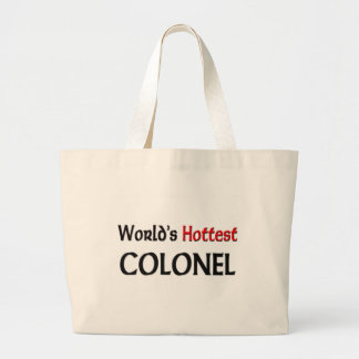 Worlds Hottest Colonel Large Tote Bag