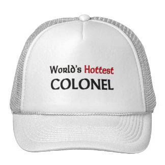 Worlds Hottest Colonel Mesh Hats