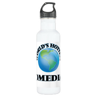 World's Hottest Comedian 24oz Water Bottle