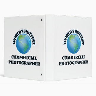 World's Hottest Commercial Photographer 3 Ring Binder