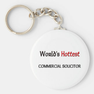 Worlds Hottest Commercial Solicitor Keychain