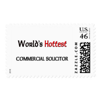 Worlds Hottest Commercial Solicitor Stamps