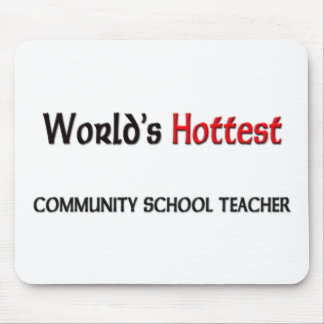 Worlds Hottest Community School Teacher Mouse Mats
