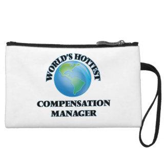 World's Hottest Compensation Manager Wristlet Purses
