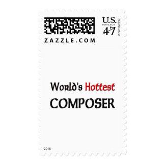 Worlds Hottest Composer Postage