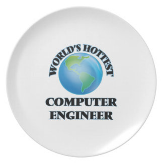 World's Hottest Computer Engineer Plate