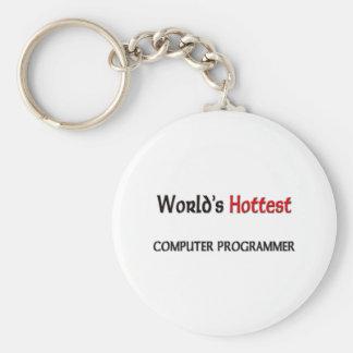 Worlds Hottest Computer Programmer Keychain