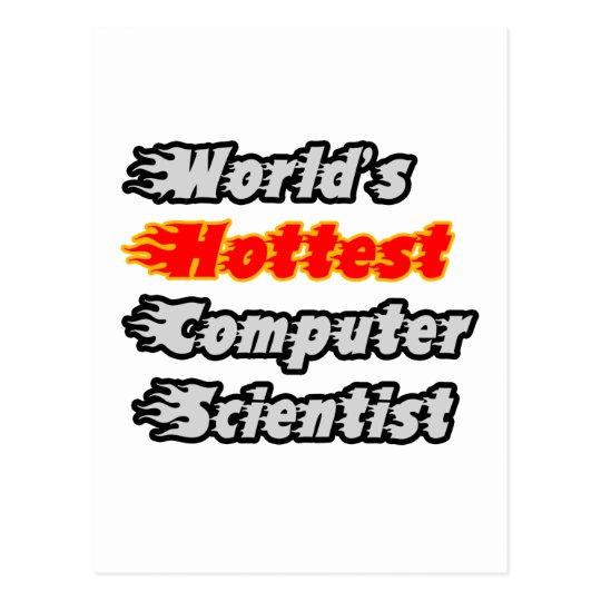 World's Hottest Computer Scientist Postcard