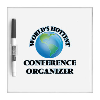World's Hottest Conference Organizer Dry-Erase Board