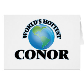 World's Hottest Conor Card