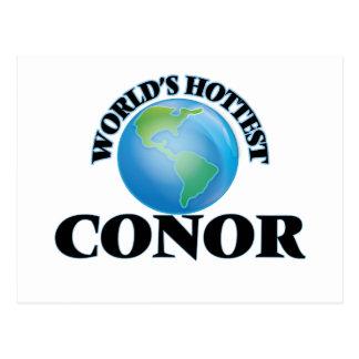 World's Hottest Conor Postcard