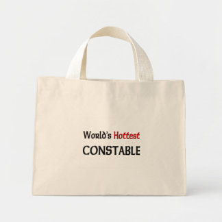 Worlds Hottest Constable Mini Tote Bag