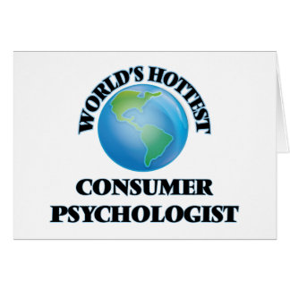 World's Hottest Consumer Psychologist Cards