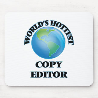 World's Hottest Copy Editor Mouse Pad