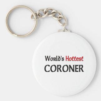 Worlds Hottest Coroner Key Chains