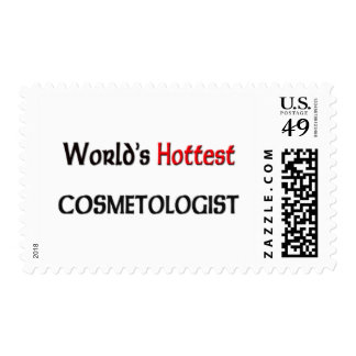 Worlds Hottest Cosmetologist Postage Stamp
