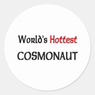 Worlds Hottest Cosmonaut Stickers