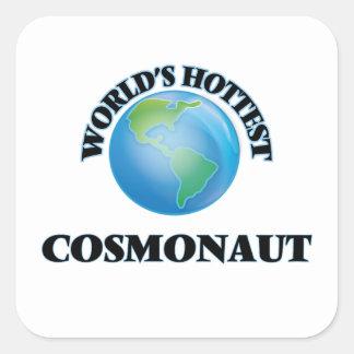 World's Hottest Cosmonaut Stickers