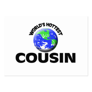 World's Hottest Cousin Business Card Template