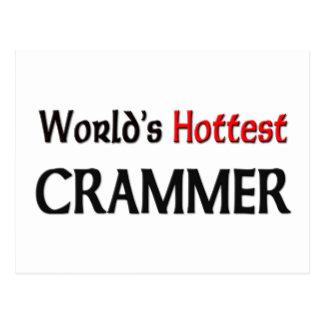 Worlds Hottest Crammer Postcards