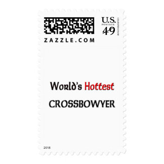 Worlds Hottest Crossbowyer Postage