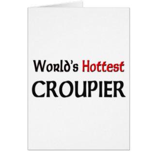 Worlds Hottest Croupier Cards