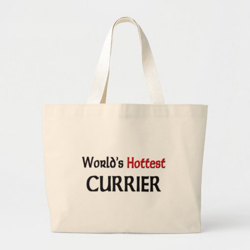 Worlds Hottest Currier Canvas Bag