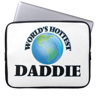 World's Hottest Daddie Laptop Sleeve