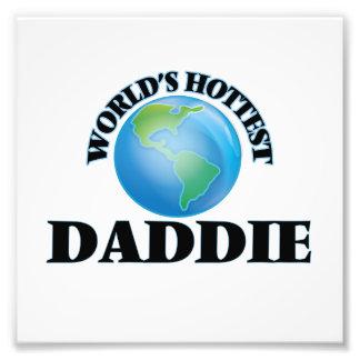World's Hottest Daddie Photo Print