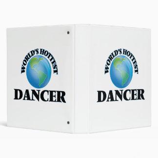 World's Hottest Dancer Vinyl Binder