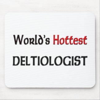 Worlds Hottest Deltiologist Mouse Pad