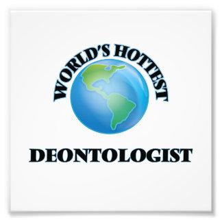 World's Hottest Deontologist Photo Print