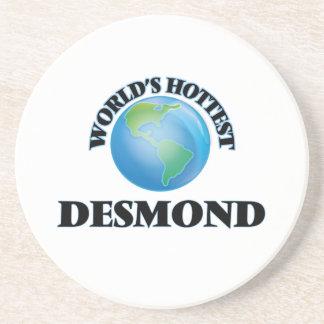 World's Hottest Desmond Drink Coaster