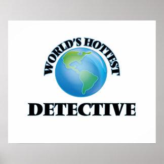 World's Hottest Detective Print