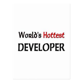 Worlds Hottest Developer Post Cards