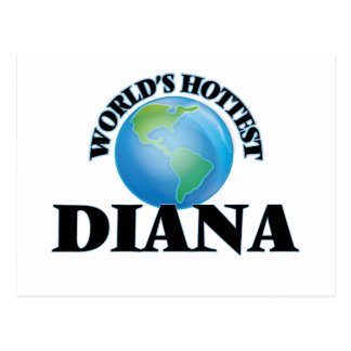 World's Hottest Diana Post Card