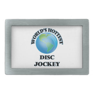 World's Hottest Disc Jockey Belt Buckles
