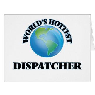 World's Hottest Dispatcher Card